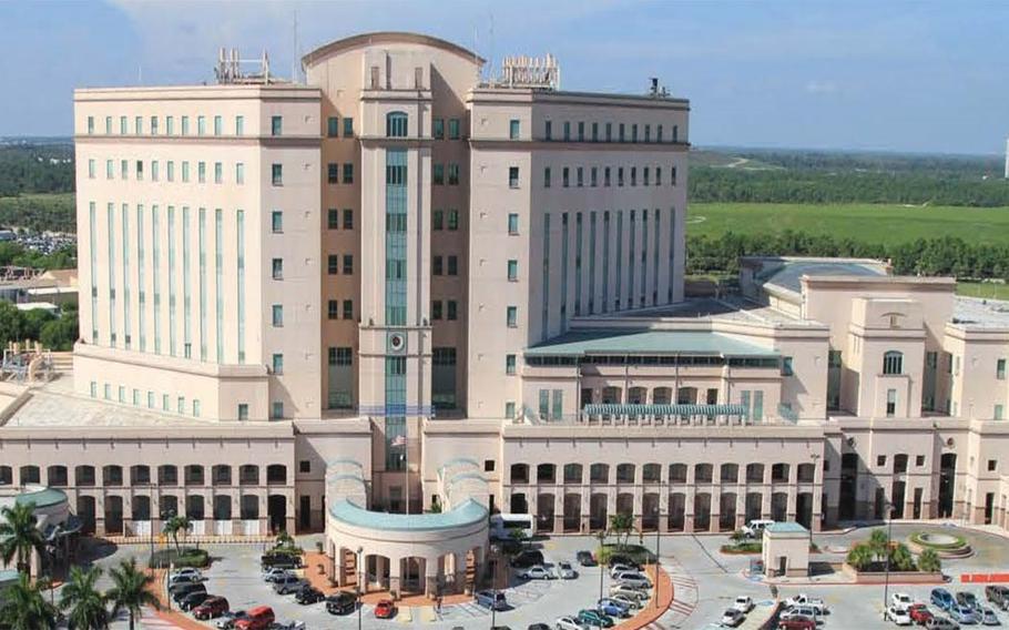 The West Palm Beach VA Medical Center.