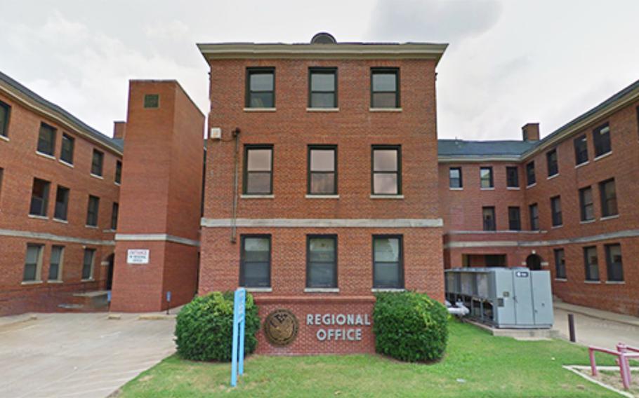 The VA's Little Rock regional office, in North Little Rock, Ark.