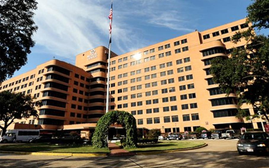 The Overton Brooks VA Medical Center in Shreveport, La., is one of the VA facilities nationwide that may treat some non-veteran coronavirus patients.