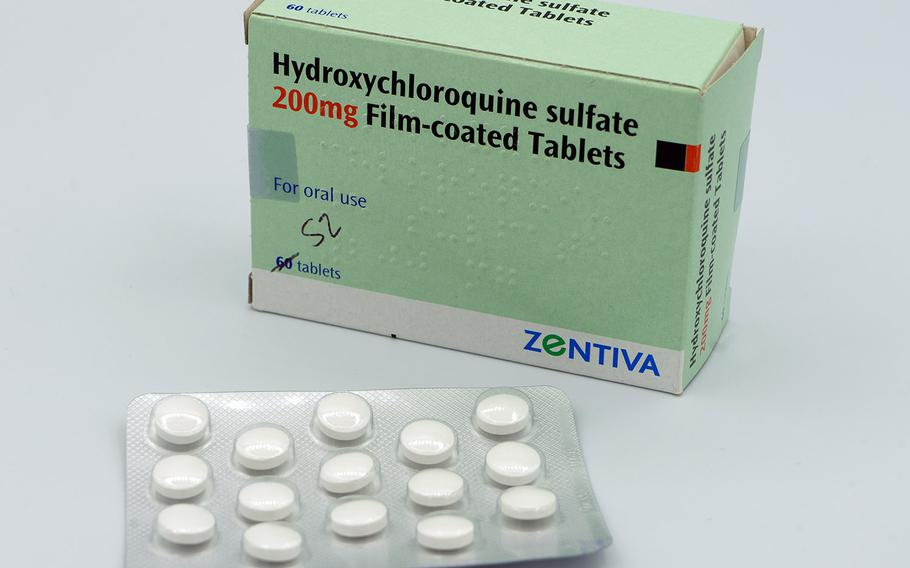 Hydroxychloroquine tablets.
