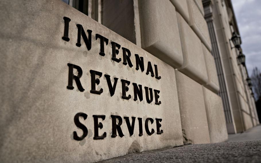The Internal Revenue Service headquarters in Washington is seen Jan. 8, 2019.