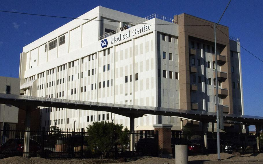 The Carl T. Hayden VA Medical Center in Phoenix, Ariz. The Phoenix VA Health Care System is among those scheduled to receive the first doses of the coronavirus vaccine.