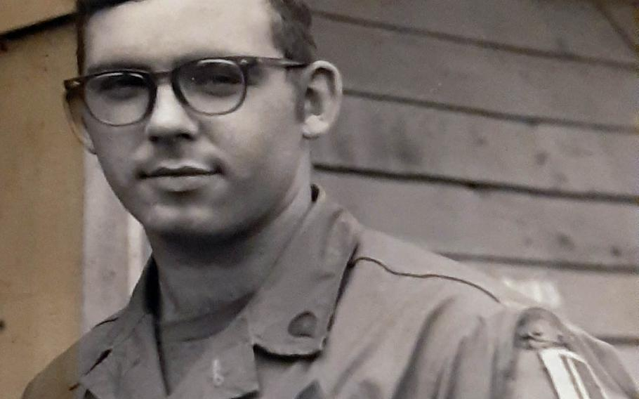 Donald Pelkey, of Fort Fairfield, Maine, served three tours with the Army at Cam Ranh Bay and Pleiku, Vietnam, between 1968 and 1971.
