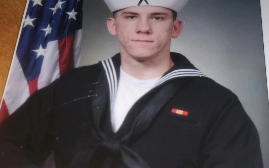 Navy veteran Gary Pressley killed himself in April 2019 in the parking lot of the Carl Vinson VA Medical Center in Dublin, Ga. His mother, who filed a wrongful death claim this week, says Pressley's VA doctor acted negligently when he cut off pain medication.
