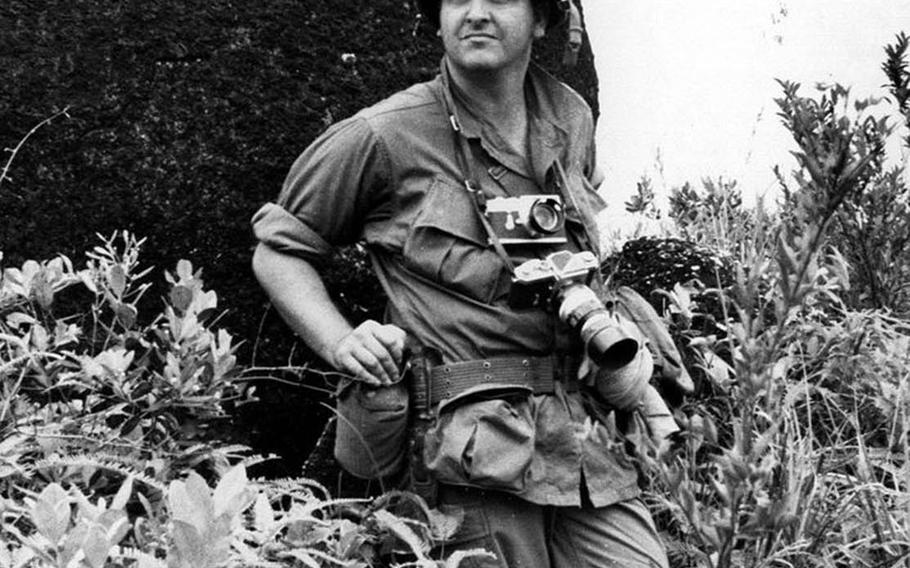 Steve Stibbens serves as a war correspondent for Stars and Stripes in Vietnam during the early 1960s.